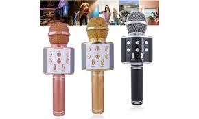 KTV- <b>WS858 Wireless Karaoke Handheld Microphone</b> USB Player...