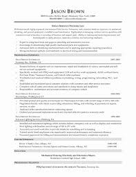 Sample Resume For Maintenance Technician Resume For Aircraft Maintenance Technician Cancercells 13
