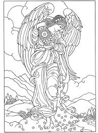 Welcome To Dover Publications Marys Coloring Book Angel