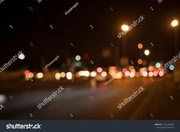 How Is Lighting Formed Night Lights Street Lights Traffic Lights Stock Photo Edit