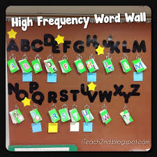 voary word walls high frequency words oh my