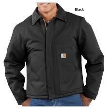 Carhartt Men's Arctic Quilt Lined Duck Traditional Jacket - J002 & black · carhartt brown Adamdwight.com