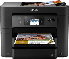 Epson Workforce Pro Wf 4730 Wireless All In One Printer Black