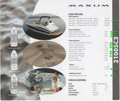 for speedboat ibiza maxum 2100 sc3 mercruiser 5 0l floor plans