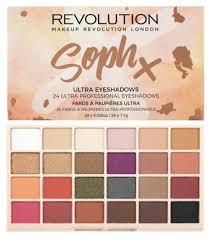 makeup revolution soph x eyeshadow palette paletka cieni do powiek