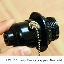 pull chain lamp socket lamp holder pl chain vintage bb lamp socket zipper switch retro pull chain lamp socket