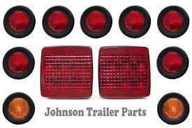 Trailer Light Requirements Amazon Com Tecniq Led Light Kit For Trailers Trucks Rv