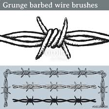 barbed wire fence drawing. Exellent Fence 500x500 Grunge Barbed Wire Brushes Brushes For Illustrator To Draw Intended Barbed Wire Fence Drawing 7