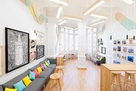 EyeCatching Language School Design In Valencia By Masquespacio Adorable Furniture Design School Interior