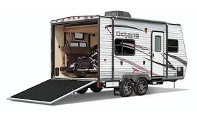 161 3 4 rear exterior toy hauler trailers toy hauler cer cargo trailer
