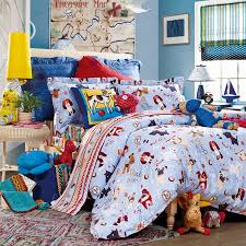 3 piece kids bedding set puppy family duvet cover bed sheet loading