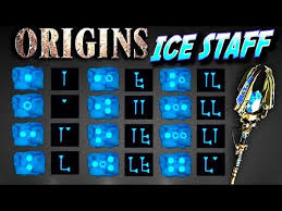 Ice Staff Chart Ice Staff Origins Zombies How To Build And Upgrade