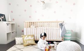 wallpaper and decals a nursery trend we love