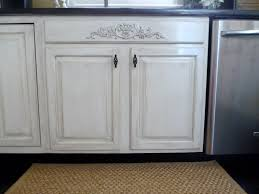 Kitchen Cabinet Paints And Glazes How To Distress White Cabinets From Our Fifth House Blog Use