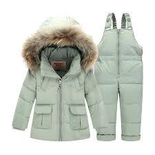 boys 3 in 1 winter coat children down jacket kids snowsuit winter overalls for boys warm