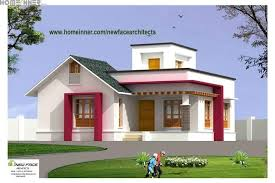 Small Picture sq ft Low Cost Kerala House Design NewFace Architects vatakara