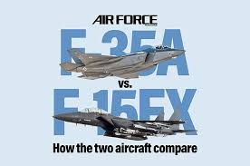 Us Air Force Pay Chart 2009 F 15ex Vs F 35a Air Force Magazine