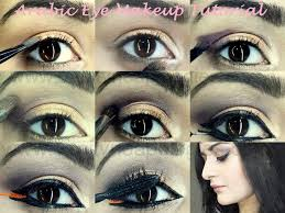 innovative makeup with step by step cal makeup with arabic bold eye makeup tutorial step by
