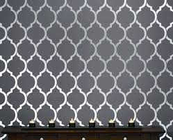 wall stencil pattern ribbon amusing bedroom ideas home templates for walls designs modern india