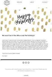 Holiday Templates Top 5 Holiday Newsletter Templates