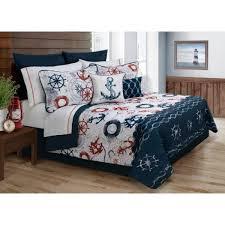 king navy blue bedspread bedding set