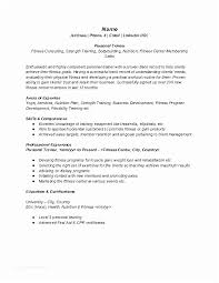 Personal Trainer Resume Beauteous How To Do A Resume Best Fitness And Personal Trainer Resume Example