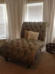 bedroom lounge furniture. tufted double chaise lounge chair in our master bedroom furniture