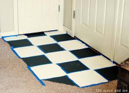 Painting Ceramic Floor Tiles In Kitchen Painting Tile Floors Fancy Painting Floor Tile Home Design Ideas