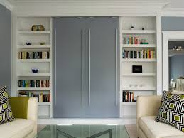 Modern Murphy Bed Spaces With Cabinetry Custom Railing In Built Idea