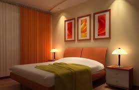 Wall Lamp Night View Bedroom Interior Design 3d Home Lighting