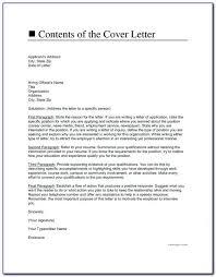 Cover Letter Example For Resume Free Cover Letter Resume