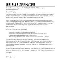 Sample Cover Letter Sales Manager Sample Cover Letter Sales Assistant Jmcaravans