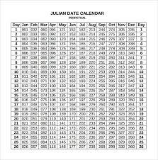 Sample Julian Calendar 10 Download Free Documents In Pdf