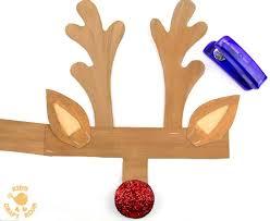 printable reindeer antlers step 3