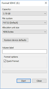 Your sd has now been formatted to fat32. If You Need To Format Sd Card To Fat32 In Windows 10 Diskinternals