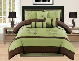 um image for brown and lime green bedding sets brown and green duvet covers full size