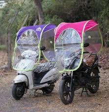 homebasics diy scooter bike umbrella all seasons polyester rainy summer for all 2 wheeler