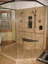 showers with no doors bathrooms designs | Pics of snail showers - no door  showers please