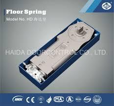 china haida king series double cylinder wooden door glass door hinge floor spring china floor hinge door closer