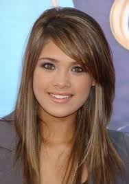 Layered Long Hairstyles With Side Bangs Hairstyle For Women Long Hairstyle Layered Side Swept Bangs