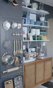 Kitchen: Diy Pegboard Kitchen Wall Storage - DIY Kitchen Storage