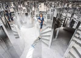 10 of 10 mirror maze by es devlin