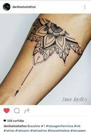 Bracelete Mandala More Tetování Tatuaggi Nuovi Tatuaggi A