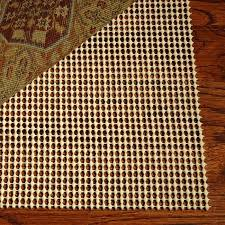 details about area rug pad 8x10 non skid slip underlay nonslip pads 8 x 11 large size