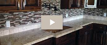 Granite With Backsplash Custom Inspiration Design