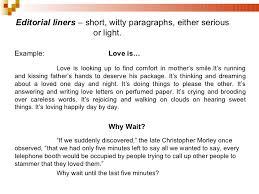 editorial writing  editorial