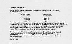 va award letter gplusnick within va disability award letter 34yvh0uw31k8nc5j7frrpm