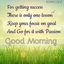Good Morning Messages With Quotes And Pictures