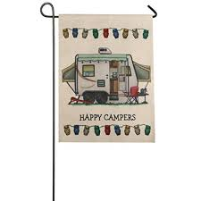 camping garden flag. Simple Camping Garden Flag AMATM Indoor Outdoor Home Decor Cute Car Pattern Flag Fall  E For Camping R