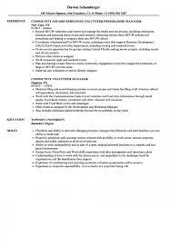 resume sample volunteer work volunteer experience on resume sample earpod co cv template for work